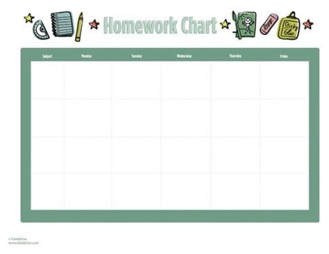 Homework crafts
